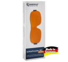 Маска для сна OHROPAX 3D (оранжевая )