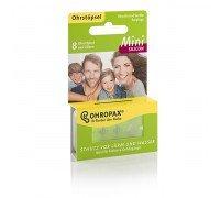 Беруши Ohropax Mini Silicon для детей 8 штук  (4 пары)
