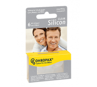 Беруши силиконовые (прозрачные) Ohropax Silicon Clear