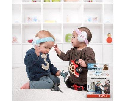 Наушники для детей ALPINE MUFFY BABY (черные) (3-36 мес. )