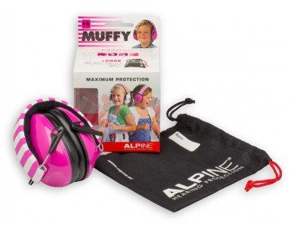 Наушники от шума для детей ALPINE MUFFY (с 2-х лет розовые)