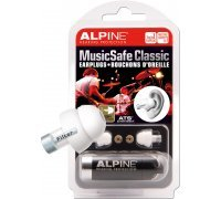 Беруши для музыкантов Alpine Hearing Protection MusicSafe Classic Earplugs