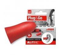 Беруши в уши полипропиленовые Alpine Plug & Go