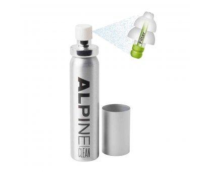Антибактериальный дезинфицирующий спрей для беруш Alpine Clean